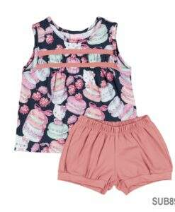 Conjunto Blusa em e Short Cotton Light-Hello Kitty-MegaKIDS